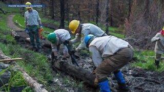 Volunteers repairing fire danger this weekend