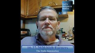 20201027 High Earners - The Daily Summation