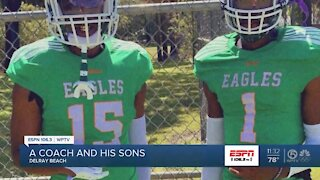 Atlantic coach Rodney Dobard boasts about his sons