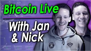 ▶️ All Things Crypto With Jan & Nick Dalmulder – Bitcoin Live | EP#401