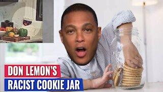 HILARIOUS: Tucker roasts CNN's Don Lemon for HIS RACIST, WHITE SUPREMACIST COOKIE JAR