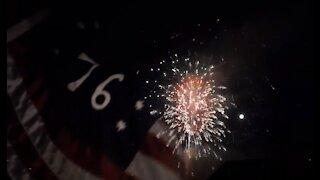 Independence Day Fireworks 2020, Cripple Creek, Colorado