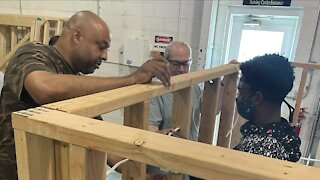 Local teens helping restore homes