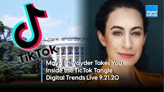 Maya Shwayder Breaks Down the Latest in the TikTok Saga | Digital Trends Live 9.21.20