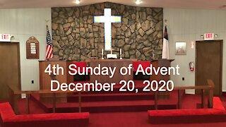 4th Sunday of Advent Worship - December 20, 2029