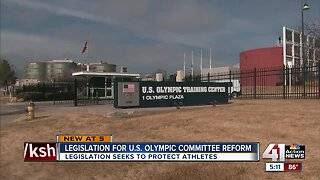 Kansas senator proposes bill for US Olympic Committee reform