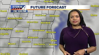 Milwaukee weather Friday: Mostly cloudy and cooler temperatures