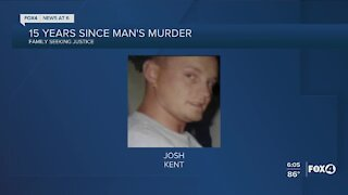 Murder remains unsolved after fifteen years