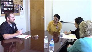 Police interview with Lanyun Ma