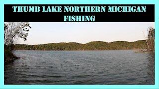 Thumb Lake Bass Fishing Northern Michigan