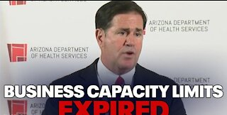 Arizona Governor Doug Ducey Lifts All Capacity Restrictions, Fully Reopens State