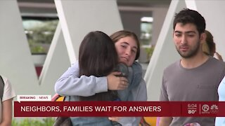 Concern, uncertainty as families search for loved ones following condominium collapse