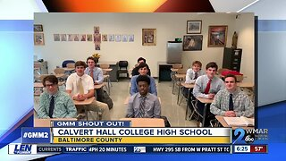 Good morning from Calvert Hall College High School!