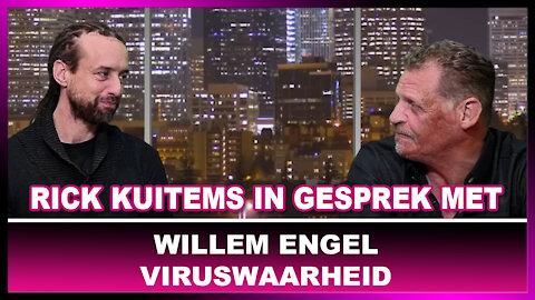 Rick Kuitems in gesprek met Willem Engel 1 december 2020, 'n update. Spoedwet_ Mondkapjesplicht_ 😉😂🙏