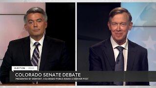 Sen. Cory Gardner, John Hickenlooper square off in U.S. Senate debate
