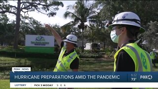 Power & electricity hurricane prep underway amid pandemic
