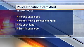 Police donation scam alert circulating in Fenton