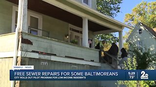 Pilot program looking to help those in need of sewer problems