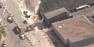 Calls for evacuation in Detroit where building collapsed