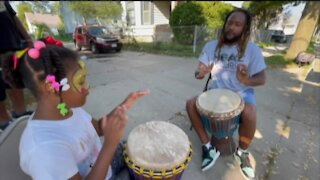 Back to school block party in Milwaukee's Harambee neighborhood