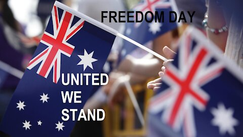UNITED WE ARE STRONG - MELBOURNE FREEDOM RALLY 24.07.21
