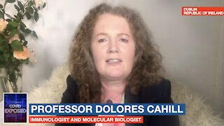 Professor Dolores Cahill says that vaccinations must stop immediately. :EPISODE SEGMENT