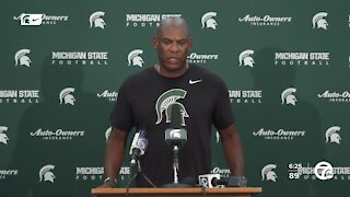 Michigan State's starting QB battle continues days before opener