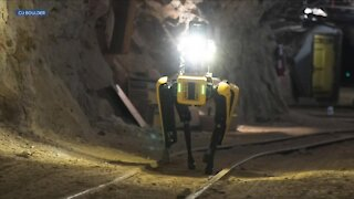CU Boulder students, staff in subterranean robot competition today