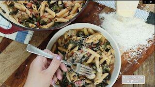 Italian Sausage & Kale One-Pot Pasta