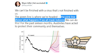 Austin Mayor Says All Will Die If We Don't Mask And Vax