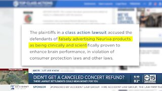 Class action lawsuits: Do you qualify for cash back?