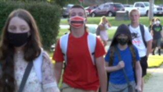 DeWine asks schools to require masks, says legislature is preventing school mask mandate in Ohio