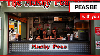 Britain's oldest mushy pea stall is still going strong after 70 years