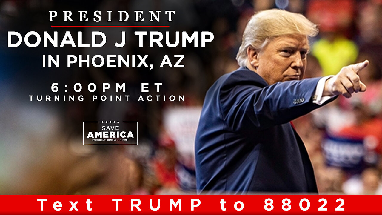 President Donald J. Trump Delivers Remarks at Turning Point Action Today! - Must Video