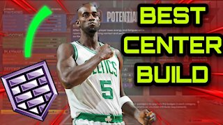 92 Badges - Best center build on NBA 2K22 - Overpowered build