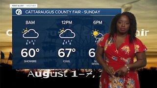 7 First Alert Forecast 11 p.m. Update, Saturday August,31
