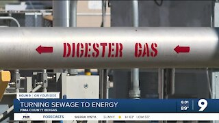 Natural gas from your sewage