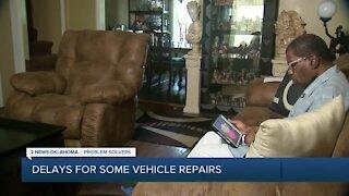Car repairs, part shipmets impacted by COVID-19