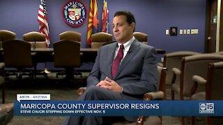 Maricopa County Supervisor resigns