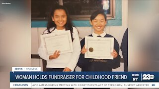 Kern's Kindness: woman holds fundraiser for childhood friend