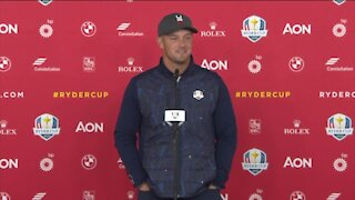 Practice rounds underway today at Ryder Cup