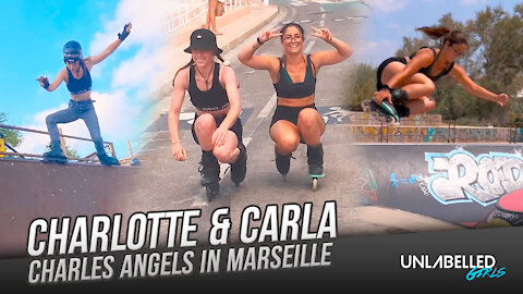 Charles Angels in Marseille (Charlotte & Carla)