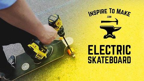 DIY electric skateboard tutorial