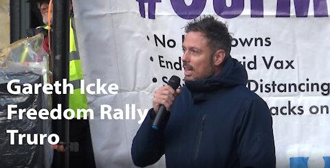 Gareth Icke - Truro - Freedom Rally - speech