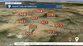 Excessive Heat Warning today