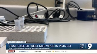Pima County reports first case of West Nile Virus
