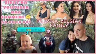 BELGIAN FILIPINO FAMILY   FAMILY BONDING