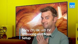 Sony Z9J Master Series 8K LED TV Unboxing | Sony's Best LED TV
