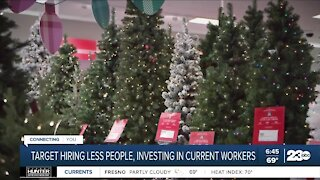 Target looks to hire less seasonal employees for holidays