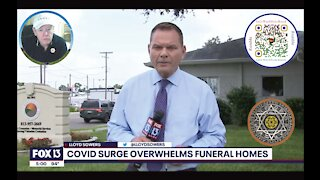 Florida Funeral Homes Busy Amid Covid-19 Surge